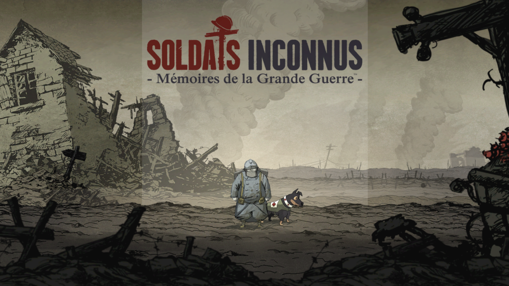 soldats inconnus title screen