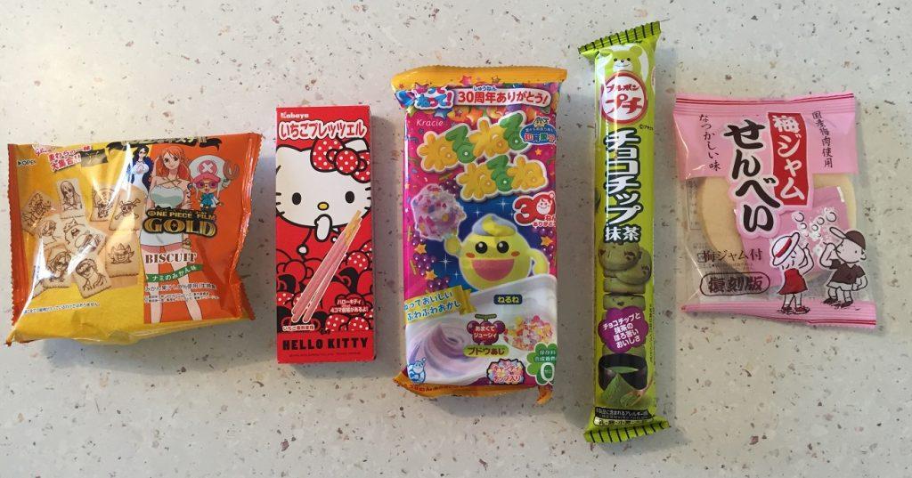 umaibox snacks gateaux sucrés