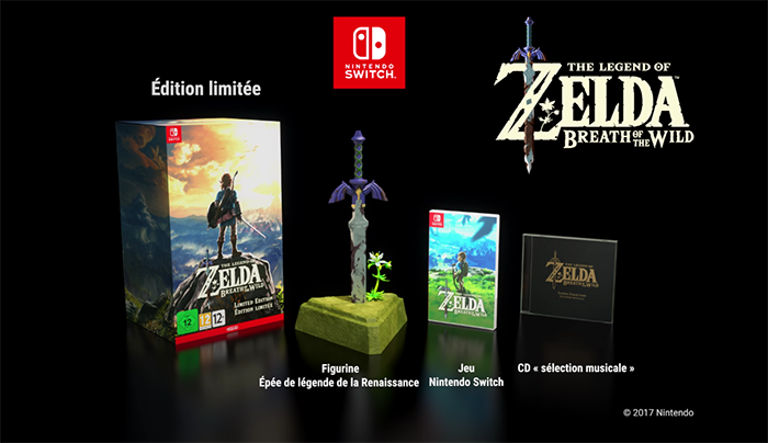 zelda breath of the wild collector switch