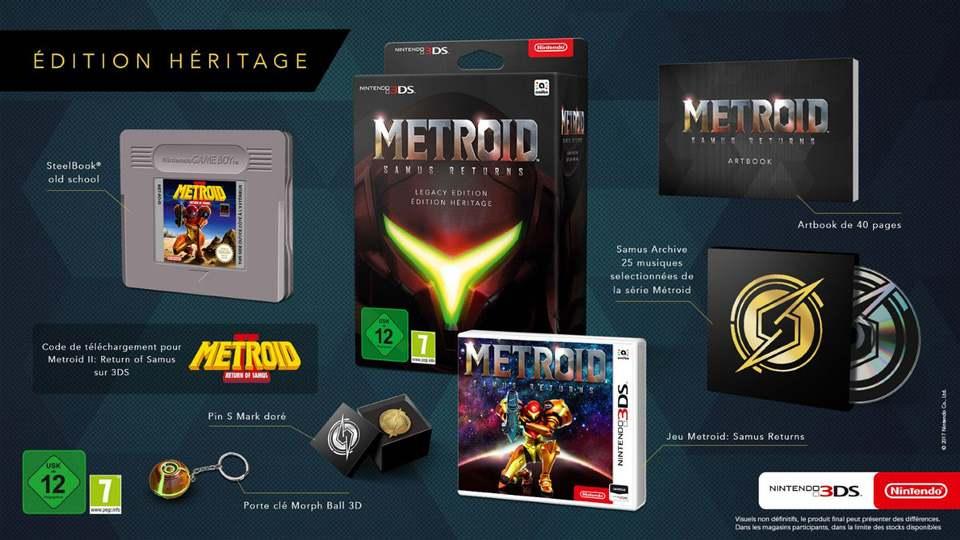 Metroid Samus Returns Collector