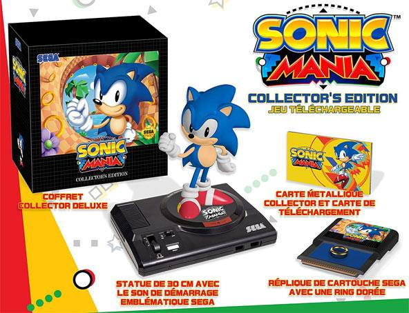 Sonic Mania Édition Collector