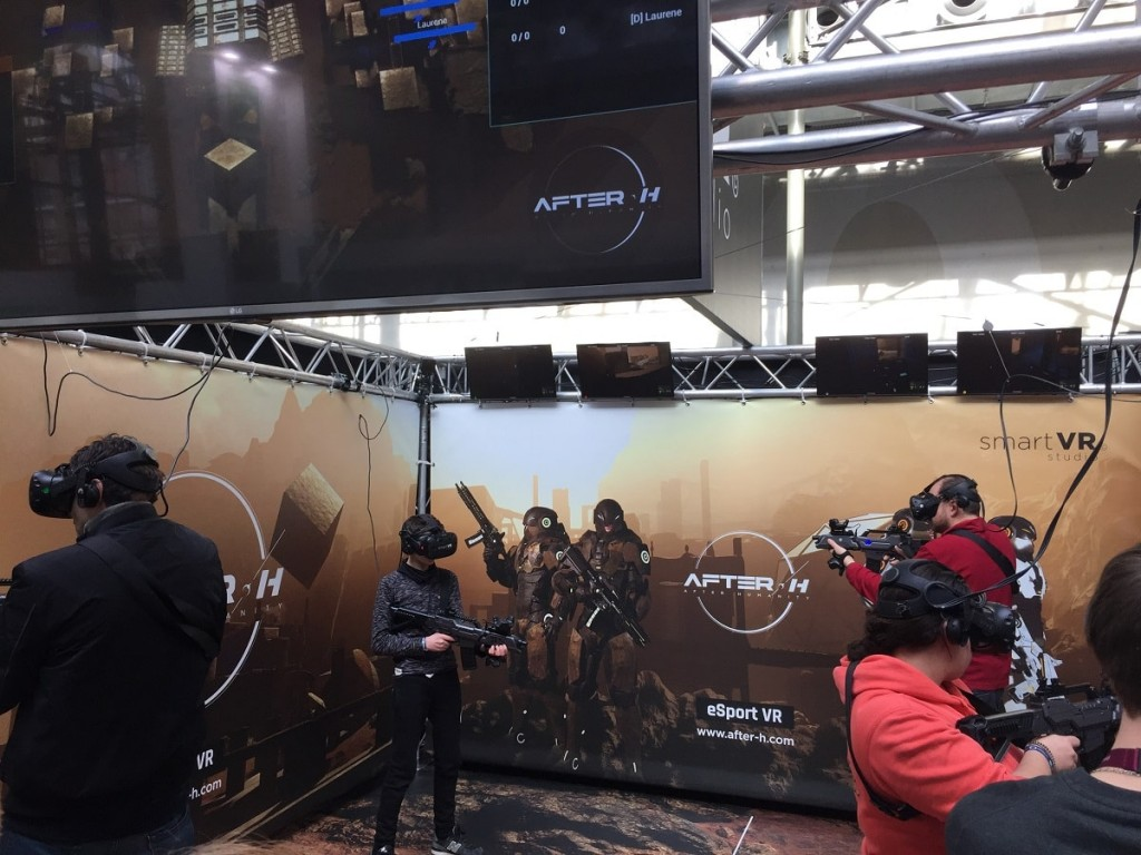esport VR virtuality after h