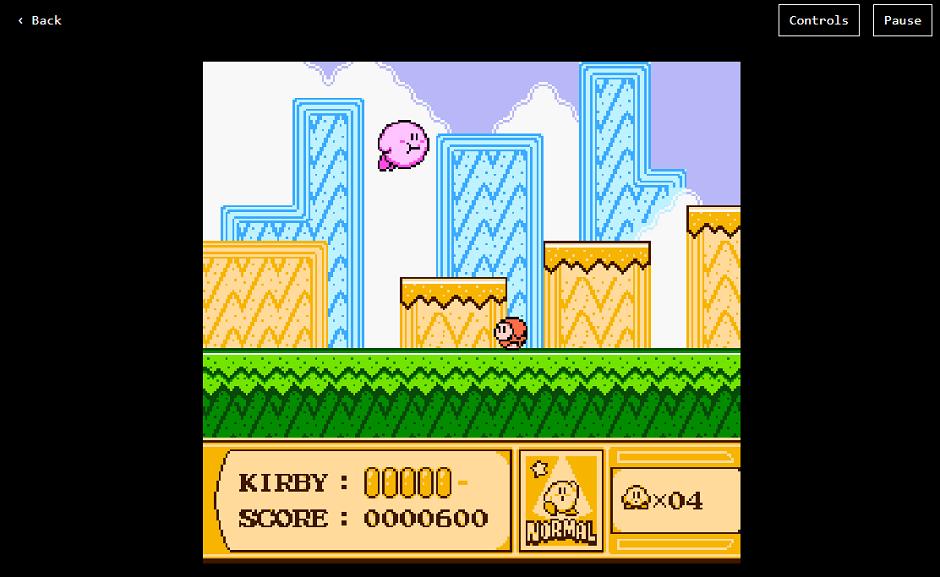 Jeux NES emulateur