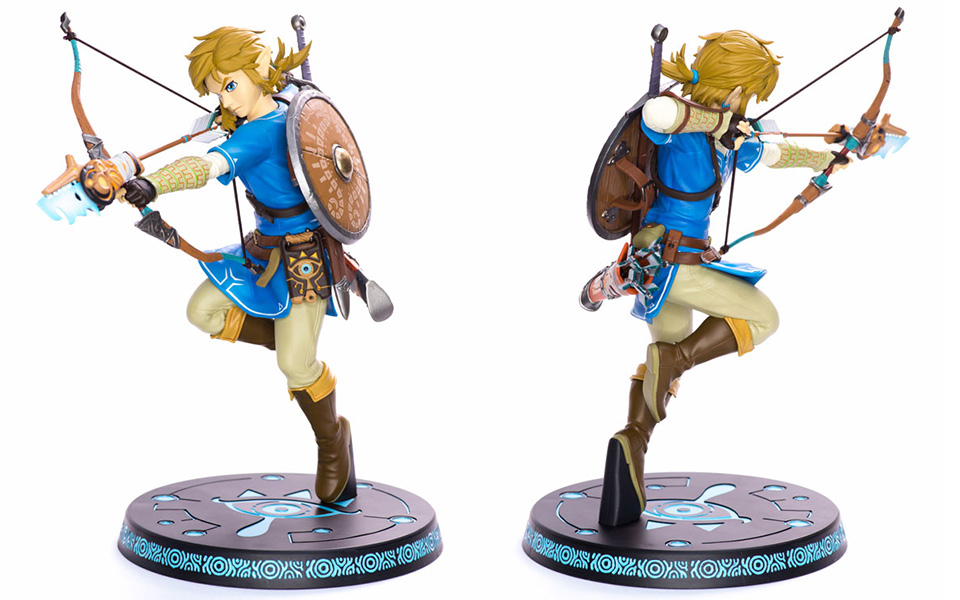 figurine zelda breath of the wild link
