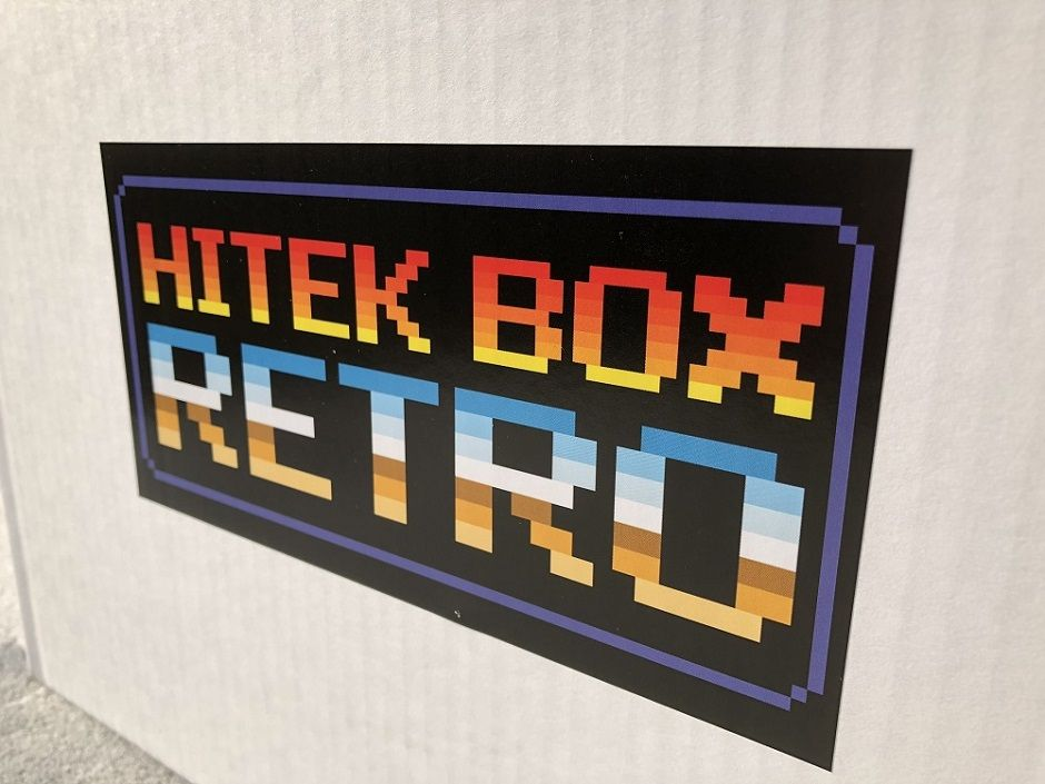 hitek box retrogaming unboxing couv
