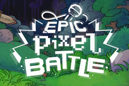 epic pixel battle banniere